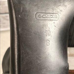 Coach Shoes - Coach VINTAGE Black Patent/Leather Booties sz 10